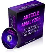 Article Analyzer Software