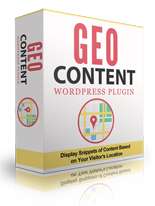 GEO Content WordPress Plugin