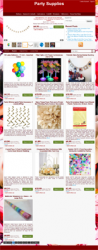 Party Supplies Web Store Niche Blog